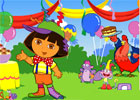 Dora's Thanksgiving Party
