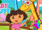 Dora Take Care Of Giraffe