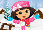 Dora Winter fashion dressup