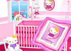 flashgames room decor Hello Kitty Nursery Games