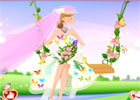 Butterfly Theme Wedding Dress Up