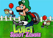 Luigi Shoot Zombie Games